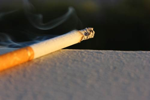 How does your body react to quitting cigarettes